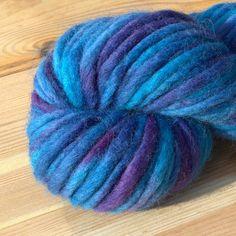 Blue Izzy 100% Merino yarn