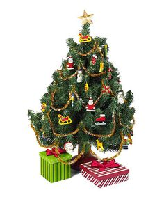 ellie   Another great find on #zulily! 18'' Doll Christmas Tree & Ornament Set #zulilyfinds