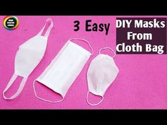 3 Easy Face Masks From Cloth Bag/ How to make disposable Face mask easily at home/ Easy Hi friends In this video I will show you 3 simple and easy surgical face masks making ideas… Easy Face Masks, Diy Face Mask, Face Diy, Diy Masque, Simple Face, Easy Youtube, Pocket Pattern, Suit Pattern, Sewing Projects