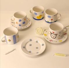 Exterior Design, Interior And Exterior, Korean Stickers, Cosy Interior, Cute Desserts, Ceramic Design, Diy Clay, New Hobbies, Cute Photos