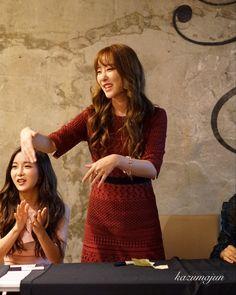 #고우리 #우리 #WooRi #조현영 #현영 #HyunYoung #레인보우 #Rainbow 160925 WooRi & HyunYoung @ MAKESTAR UP CLOSE PHOTOBOOK FAN DINNER