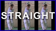 Cricket Training Batting Tips & Drilling How to Play Straight Balls in C...