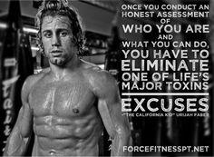 MMA, Urijah Faber, UFC, Motivation, Inspiration, Gym Motivation, Fitness, Force Fitness, Wisdom, Encouragement