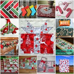 Get Inspired! Christmas Quilting Ideas from Lorna McMahon!
