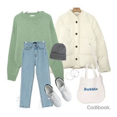 Daily looks. Korean Girl Fashion, Tomboy Fashion, Teen Fashion Outfits, Retro Outfits, Cute Casual Outfits, Cute Fashion, Look Fashion, Stylish Outfits, Teenager Outfits