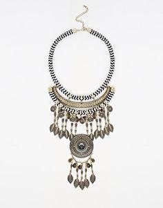 New Look Statement Mono Necklace
