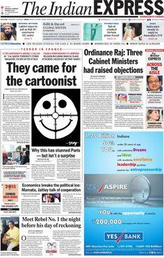 EN IMAGES • Attentat contre Charlie : les unes de la presse étrangère | Courrier international