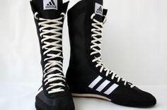 Vintage 90s Adidas Champ Speed Boxing Wrestling Shoes Boots Combat Freistil EQT | eBay