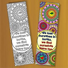 Free Printable Birthday Bookmarks Featuring Happy Birthday Text