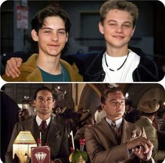 Tobey-Maguire-And-Leonardo-DiCaprio-Young-Vs-Old