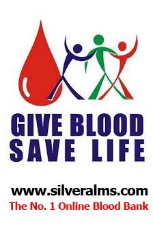 silveralms.com Online Blood Bank Charity Crowdfunidng Website www.silveralms.com