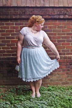 """With Wonder and Whimsy: Taking Inspiration from Sofia Coppola's """"Marie Antoinette"""". plus size, fashion, style, outfit, ootd, pastels, asos curve, anthropologie, pink and powder blue"""