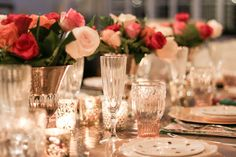 Valentine's Day-Tips for setting the ultimate dinner party table by Randi Garrett Design