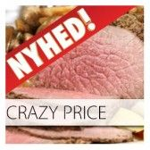 Crazy Price buffet Nr 1 til kun 89,00 kr. min 10 kuverter