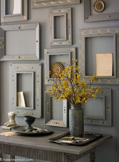 As seen in Country Home Magazine, styled by Matthew Mead. Photographed by Helen Norman. Decor Interior Design, Interior Decorating, Decorating Ideas, Craft Ideas, Country Home Magazine, Arts And Crafts, Diy Crafts, Country Style Homes, Shades Of Grey