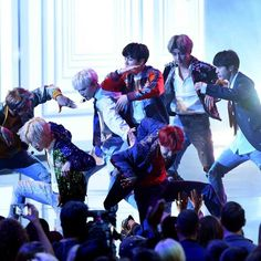 AMAs Releases Photos Of BTS During Performance And Behind The Scenes | Soompi