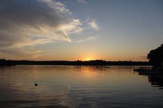 Spectacular Sunsets at Whitefish Lake Ontario, site of many group camping trips