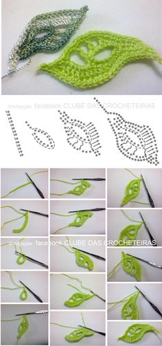 Simple Branch Irish crochet pattern / tutorial with step-by-step pictures, written instructions and charts. Simple Branch Irish crochet pattern / tutorial with step-by-step pictures, written instructions and charts. Crochet Leaf Patterns, Crochet Motifs, Crochet Diagram, Freeform Crochet, Irish Crochet Tutorial, Crochet Flower Tutorial, Crochet Flowers, Crochet Leaves, Crochet Simple
