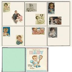 Kids Room by R W. Diy Dollhouse, Dollhouse Miniatures, Dollhouse Furniture, Paper Dolls Clothing, Mini Doll House, Plastic Canvas Patterns, Little Books, Baby Shop, Mini Books