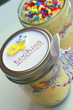@Tookiesss Care Package Cakes ship to APO addresses ~ Support Our Troops Vanilla Buttercreme Frosting Jar by tookies
