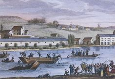 6a0128771b09b2970c0133f4314ae7970b-pi 448×311 pixels                                 Mass drownings of counter revolutionaries in 1793