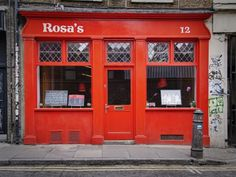 Rosa's, Thai Restaurant, Spitalfields and West End