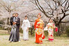 Under the Sakura Tree - Family Sakura Photo session