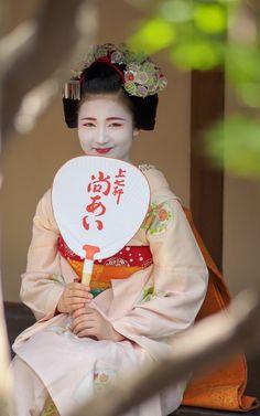 maiko 舞妓 Kamishichiken 上七軒 Naoai 尚あい KYOTO JAPAN                                                                                                                                                     More
