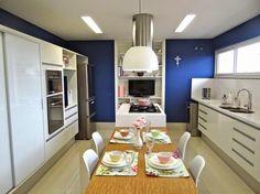 ilha central cozinha