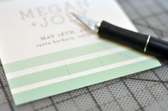 "DIY: ""Pencil Us In"" Save the Dates 