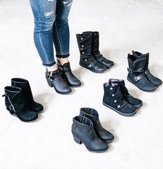 Black booties for every occasion this season - by Blowfish Shoes