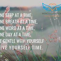 Wings for Widows guides widows through the shocks of early widowhood. First Step, Breathe, Coaching, Wings, Day, Inspiration, Training, Biblical Inspiration, Feathers