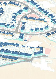 GILBERT LEUNG: Axo Cities - Swanscombe