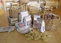 Miniature P.E.I. Potato Bag Tutorial Sharon Thompson recently requested that I help her make a Prince Edward Island Potato Bag - She provided me with...
