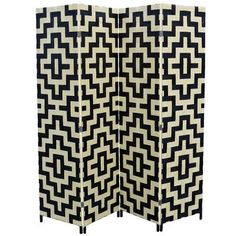 "ORE Furniture 70.75"" x 70.5"" 4 Panel Room Divider"