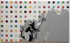 Banksy x Damien Hirst