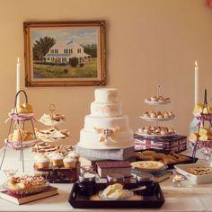 Vintage High Tea-Inspired Wedding High Tea Dessert Bar – The Knot High Tea Wedding, Vintage High Tea, Bridal Shower, Baby Shower, Backyard Bbq, Dessert Bars, Wedding Inspiration, Wedding Ideas, Tea Party