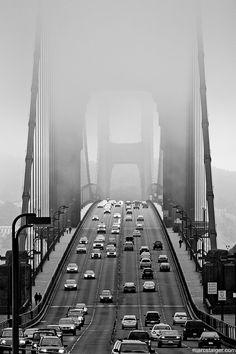 golden gate bridge by ~stranj