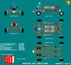 Gerry Andersons Joe 90 Macs Jet Air Car 1 of 2 REV by ArthurTwosheds.deviantart.com on @DeviantArt