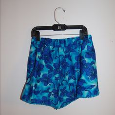Pom Pom shorts Size small; brand new! These were personally made from etsy and did not fit me. Hawaiian print Other