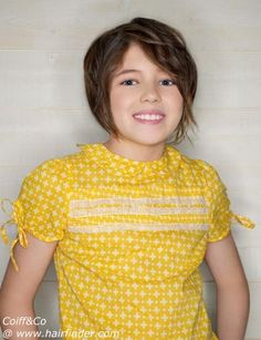 I wish Lorren would let me cut her hair like this!!!