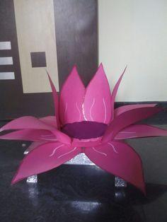 Namaste Lyf: Lotus for Goddess Lakshmi for VaraLakshmi Vratam