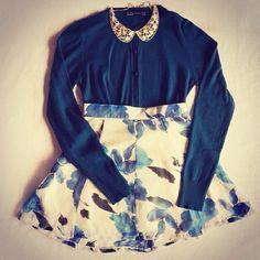 classy, fashion, floral, inspiration