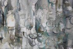 Bottles and Sherry glasses II / Botellas y catavinos II - Watercolour / Acuarela