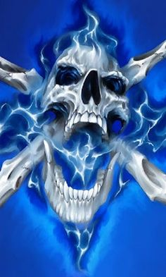 cool skulls - Google Search