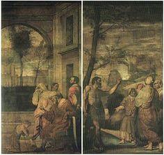 Ante d'organo di San Giovanni Evangelista. 1535