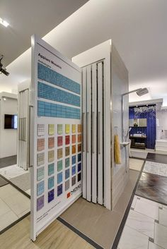 Display Design, Booth Design, Store Design, Showroom Interior Design, Tile Showroom, D Lab, Interior Design Presentation, Office Interiors, Retail Design