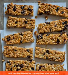 Homemade granola bars with lots of goodness, I wonder what I could sub for wheat germ? | Spoon Fork Bacon