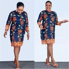 2018 Trending Ankara Styles for Hot and Classy Fashionistas Ankara Short Gown, Short Gowns, Ankara Gowns, Ankara Dress, Latest African Fashion Dresses, African Print Dresses, African Print Fashion, Africa Fashion, Ankara Fashion