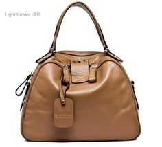 Elegant leather tote